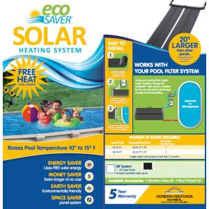 Eco Saver 20-Foot Solar Heating System Review